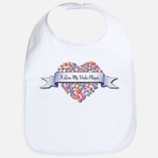 Love My Viola Player Bib