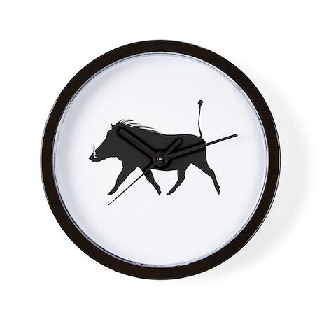 Mutinae Warthog Wall Clock