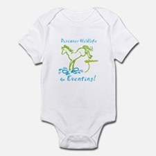 Eventing Horse Infant Bodysuit