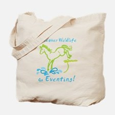 Eventing Horse Tote Bag