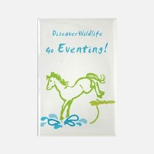 Eventing Horse Rectangle Magnet