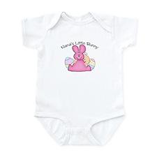 Nana's Little Bunny GIRL Infant Bodysuit