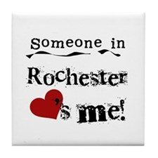 Rochester Loves Me Tile Coaster