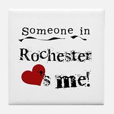 Rochester Loves Me Tile Coaster