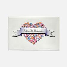 Love My Upholsterer Rectangle Magnet