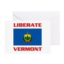 LIBERATE VERMONT Greeting Card