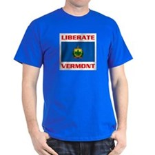 LIBERATE VERMONT T-Shirt