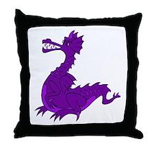 Cartoon Dragon Throw Pillow