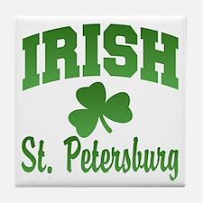 St. Petersburg Irish Tile Coaster