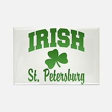 St. Petersburg Irish Rectangle Magnet