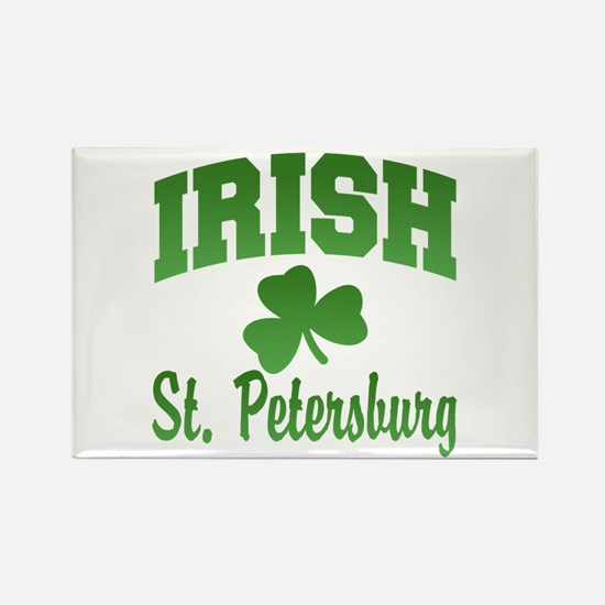 St. Petersburg Irish Rectangle Magnet