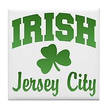 Jersey City Irish Tile Coaster
