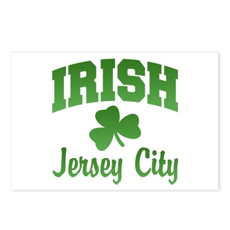 Jersey City Irish Postcards (Package of 8)