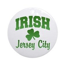 Jersey City Irish Ornament (Round)