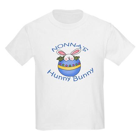 Nonna's Hunny Bunny BOY Kids Light T-Shirt