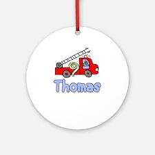 Thomas Ornament (Round)