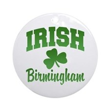 Birmingham Irish Ornament (Round)