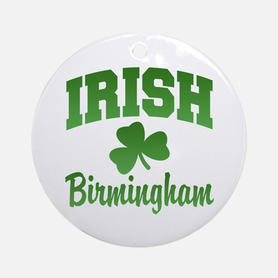 Birmingham Irish Ornament (Round)