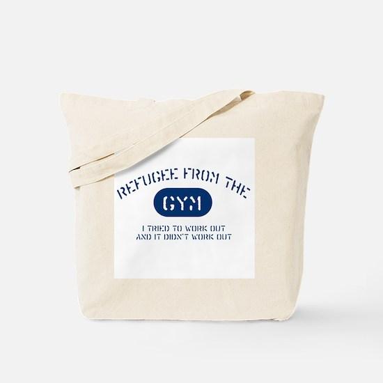 Gym Refugee Tote Bag