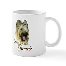Briard Crazy Mug