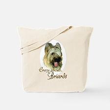 Briard Crazy Tote Bag