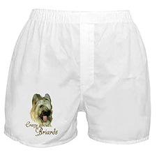 Briard Crazy Boxer Shorts