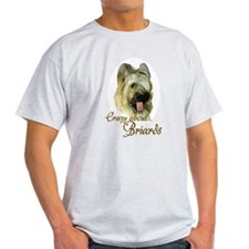 Briard Crazy T-Shirt