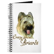 Briard Crazy Journal