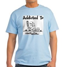 Addicted To Cricket T-Shirt