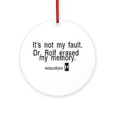 DOOL DR. ROLF Ornament (Round)