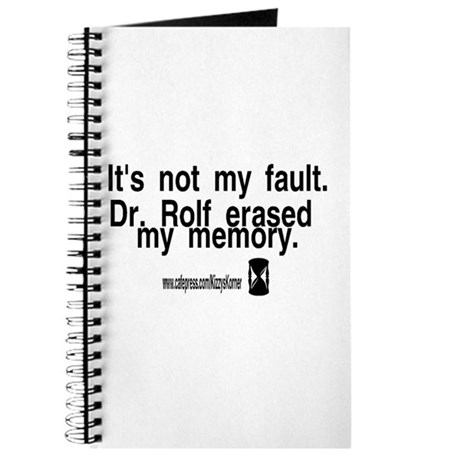 DOOL DR. ROLF Journal