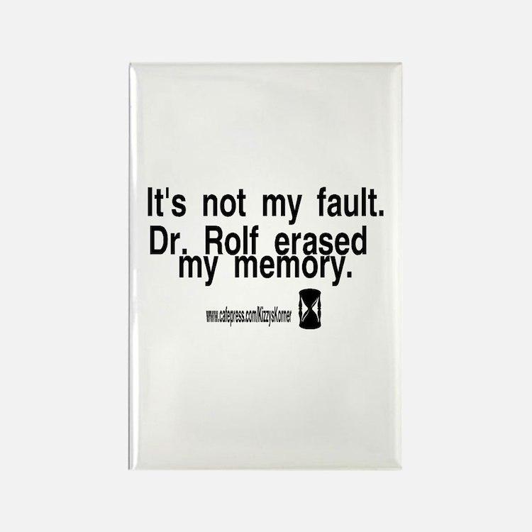 DOOL DR. ROLF Rectangle Magnet