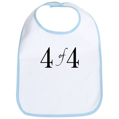 4 of 4 (4th child) Bib