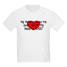 My mommy loves me Kids Light T-Shirt