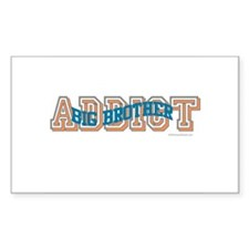 BIG BROTHER ADDICT Rectangle Decal