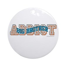 BIG BROTHER ADDICT Ornament (Round)