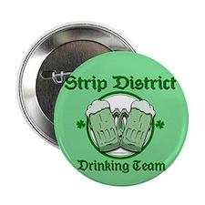 """Strip District Drinking Team 2.25"""" Button"""