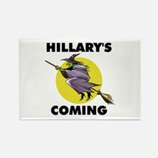 HILLARY WITCH Rectangle Magnet