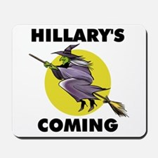 HILLARY WITCH Mousepad