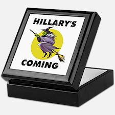 HILLARY WITCH Keepsake Box