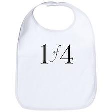 1 of 4 (First Born) Bib
