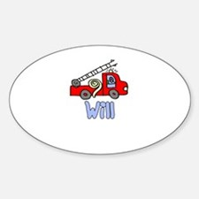 Will Oval Decal