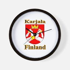 The Karjala Shop Wall Clock