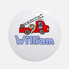 William Ornament (Round)