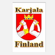 The Karjala Shop Postcards (Package of 8)