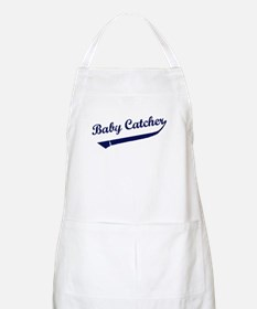 Baby Catcher Baseball BBQ Apron