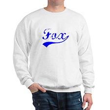 Vintage Fox (Blue) Sweatshirt