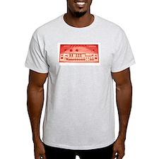Acid tb-303 (red) Ash Grey T-Shirt