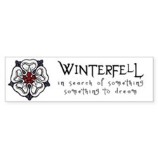 Winterfell Bumper Bumper Sticker
