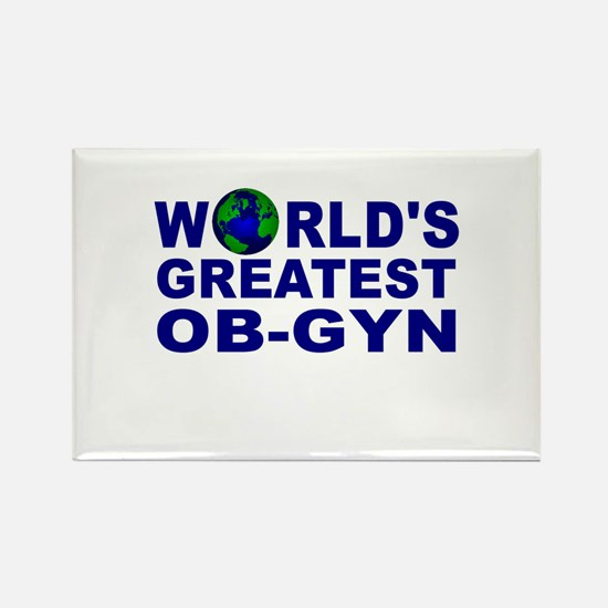World's Greatest OB-GYN Rectangle Magnet